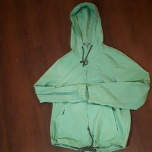 Size small ZINE raincoat